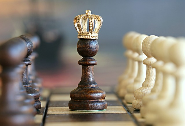 chess board for investing in cryptocurrencies